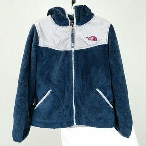 The North Face Girls Fleece Zip Up Jacket